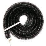 1x 4m x 50mm (5,1cm) Hérisson brosse pour gouttière/Garde/gouttières pour les petites serres et abris pour pour 4m de la marque Truly PVC Supplies image 1 produit