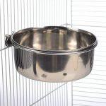 2 mangeoires de cage à boulon en acier inoxydable 3 tailles pour chien et chat également adaptées à l'eau et à la nourriture pour oiseau, lapin, et tous les petits animaux de la marque ProRezult image 4 produit
