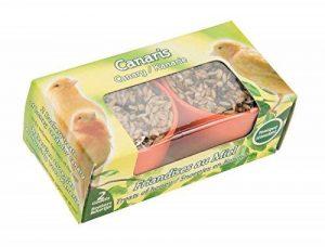 Agrobiothers Godets Mélange Graines Canaris 22 G pour Oiseaux de la marque Agrobiothers image 0 produit