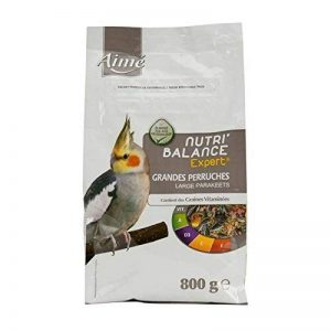 Aime Nourriture Nutri'Balance Expert pour Grandes Perruches 800 G de la marque Aime image 0 produit