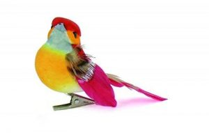 Artemio Lot de 6 pinces avec oiseau Multicolore de la marque Artemio image 0 produit