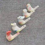 AUTULET 5 pcs oiseau eau céramique sifflet sifflet de survie d'urgence avec des jouets de bain outils edc forts enfants pour les cadeaux de la marque AUTULET image 3 produit