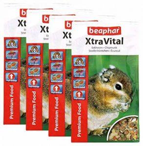 Beaphar - XtraVital, alimentation premium - écureuil de Corée - 800 g - Lot de 4 de la marque Beaphar image 0 produit