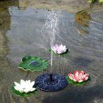 Brightcactus Fontaine solaire, Mignon Bain d'Oiseau pompe à eau solaire électrique, Jardin Autoportant 1.4W Panneau Solaire Kit Pompe à eau, Pompe Extérieure Arrosage Submersible de la marque Brightcactus image 1 produit