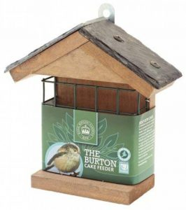 C J Wildbird Foods Kew Collection Wildlife care The Burton Mangeoire avec support carré pour gâteau de la marque C J Wildbird Foods image 0 produit
