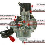 Carburateur 16mm standard avec Choke pour SIMSON moineau 50cc, Stratos Chicago, Montana, Tauris Capri de la marque 2EXTREME image 3 produit