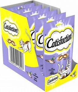 Catisfactions Canard Friandises pour Chats Sachet de 60 g - Pack de 6 de la marque Catisfactions image 0 produit
