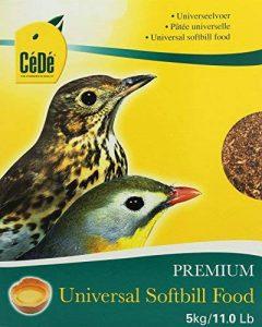 Cédé Pâtée Universelle pour Oiseau 5 x 1 kg de la marque Cédé image 0 produit