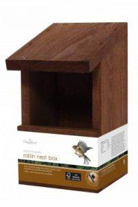 Chapelwood Nichoir pour oiseaux sauvages/rouges-gorges de la marque Chapelwood image 0 produit