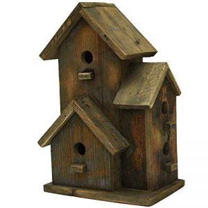 chemin_de_campagne Nichoir Cabane à Oiseaux Maison d'Oiseaux 27.50 cm x 18 cm x 44 cm de la marque chemin_de_campagne image 0 produit