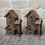 chemin_de_campagne Nichoir Cabane à Oiseaux Maison d'Oiseaux 27.50 cm x 18 cm x 44 cm de la marque chemin_de_campagne image 2 produit