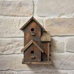chemin_de_campagne Nichoir Cabane à Oiseaux Maison d'Oiseaux 27.50 cm x 18 cm x 44 cm de la marque chemin_de_campagne image 3 produit