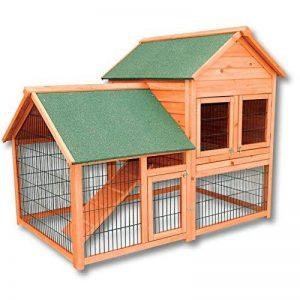 Clapier Cage pour lapin ou rongeur Poulailler Abri petits animaux Enclos de la marque WilTec image 0 produit