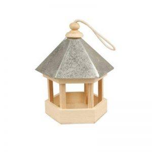 Creativ Mangeoire pour oiseaux avec toit en zinc, 22x18x16,5 cm, traité, 1 pièce de la marque Creativ image 0 produit