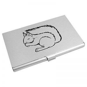 'Écureuil Manger' porte carte de visite / porte carte de crédit (CH00003364) de la marque Azeeda image 0 produit
