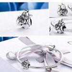 écureuil véritable argent sterling 925Naughty écureuil et noix de pin Animal Charm perle pour bracelet à breloques Bijoux Femme Cadeau Scc197 de la marque EyeCandy UK image 1 produit