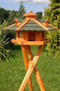 Deko-Shop-Hannusch Nichoir à oiseau sur pieds en bois traité de la marque Deko-Shop-Hannusch image 0 produit