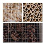 Deuba Hôtel à insectes en bois naturel - Nichoir - Abri hiver insectes espèces jardin de la marque Deuba image 4 produit