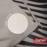 Diythinker Citation Nurture Passes Nature sur toile Cordon de serrage Sac à dos de voyage Sacs cabas de la marque DIYthinker image 3 produit