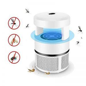 Dr Nezix Anti-moustique Zapper électronique Lampe Tueur, Alimenté par USB Non-Chemical Photocatalyseur LED Mosquito Catcher Piège, Tueur d'insecte d'insecte de mouche extérieure d'intérieur, Blanc de la marque Dr Nezix image 0 produit