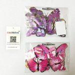 ElecMotive 24 Pièces 3D Papillons Papiers Décoration pour décoration de Maison et de Pièce, Stickers Muraux, 2 Couleurs de la marque ElecMotive image 5 produit
