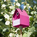 Emsa 514124 Landhaus Nichoir pour Jardin Polypropylène Rose 15 x 24 cm de la marque Emsa image 1 produit