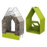 Emsa Mangeoire pour oiseaux silo, pour kleinsingv ögel, de toute l'année utilisation, maison de campagne de la marque Emsa image 2 produit