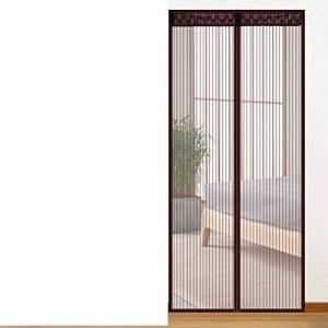 EQEQ Autocollants Magic Rideau Anti-Moustique/[Summer],Ménage,Salon,Chambre,Haute denisity,/Rideau Rideau d'écran magnétique/voilages Rideaux-B 100x220cm(39x87cm) de la marque EQEQ image 0 produit