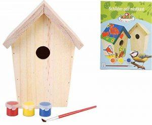 esschert Design KG145 Nichoir à oiseaux Bois à peindre de la marque esschert image 0 produit