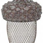 Esschert Design Mangeoire gland en polyrésine et métal, 14,0x 14,0x 22,2cm de la marque Esschert Design image 1 produit