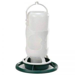 Fauna Bird Products Omnia Fauna Abreuvoir avec Bouteille Plastique pour Oiseau Vert/Blanc 23 x 28 cm de la marque Fauna Bird Products image 0 produit