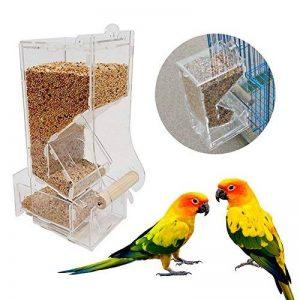 fosa Mangeoire à Oiseaux/Dispositif D'alimentation pour Les Oiseaux/Transparent Fenêtre/en Acrylique de la marque fosa image 0 produit