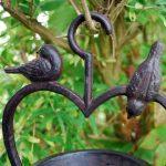 Gardens2you Mangeoire pour oiseaux en forme de cœur à suspendre Fonte de la marque Gardens2you image 1 produit