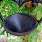 Gardens2you Mangeoire pour oiseaux en forme de cœur à suspendre Fonte de la marque Gardens2you image 2 produit