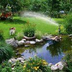Gardigo 60083 - Répulsif pigeons, chats, chiens, oiseaux et hérons; Jet d'eau repousseur d'animaux via un système d'arrosage 60 m² de la marque Gardigo image 4 produit