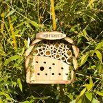 Gardigo Hôtel à insectes pour abeilles & coccinelle naturholzfarben de la marque Gardigo image 3 produit