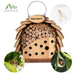 Gardigo Hôtel à insectes pour abeilles & coccinelle naturholzfarben de la marque Gardigo image 5 produit