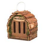 Gardigo Hôtel pour papillon   maison, abri à coccinelle abeilles et pour plusieurs insectes   en bois naturel   facile à suspendre - Idée cadeau Noël de la marque Gardigo image 1 produit