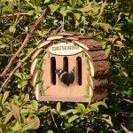Gardigo Hôtel pour papillon | maison, abri à coccinelle abeilles et pour plusieurs insectes | en bois naturel | facile à suspendre - Idée cadeau Noël de la marque Gardigo image 4 produit