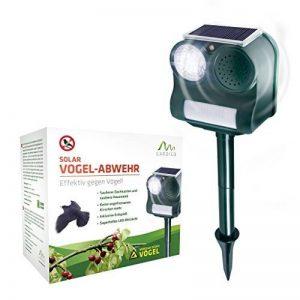 Gardigo Répulsif anti-oiseaux solaire Épouvantail électronique à ultrasons avec flash et piquet de la marque Gardigo image 0 produit