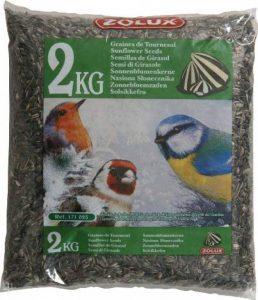Graines de tournesol sac de 2 kg pour oiseaux de la nature/ZOLUX de la marque Zolux image 0 produit