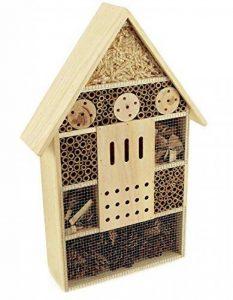 Grand Hôtel à insectes insectes et ruche en bois 57cm de la marque Hline image 0 produit