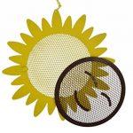 Green Jem forme de tournesol Écrou Mangeoire à oiseaux, Naturel, 23.5x 6x 23.5cm de la marque Green Jem image 1 produit