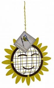 Green Jem Tournesol en forme de boule de graisse pour oiseaux sauvages, Naturel, 23.5x 7x 23.5cm de la marque Green Jem image 0 produit