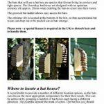 Greenkey 695Medium Bat Box–Bois naturel de la marque Greenkey image 2 produit