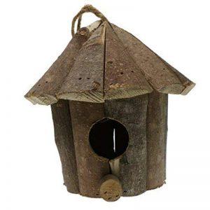 Homyl Nid D'oiseaux Tissée à La Main Éclosant Grotte D'élevage Décor De Pâques DIY - #B Maison en bois de la marque Homyl image 0 produit