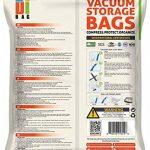 Housses de rangement sous vide - 15 sacs de voyages pour économiser de l'espace - 1 Jumbo, 3 Xl, 4 L, 4 M et 3 Roll-up- Sac de compression aspirable pour ranger vêtements et couettes - DIBAG de la marque DIBAG image 1 produit