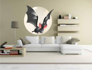 Indigos Kar-Wall-Bat 011–70Sticker mural Bat–11–Halloween–chauve-souris Sticker mural 70x 70cm de la marque Indigos image 0 produit