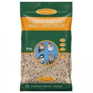 Johnston & Jeff Supérieur Nourriture pour Oiseaux Sauvages, 20kg de la marque Johnston & Jeff image 0 produit