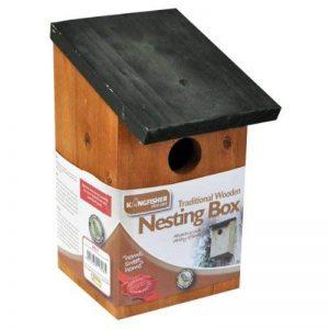 Kingfisher Nichoir en bois de la marque Kingfisher image 0 produit